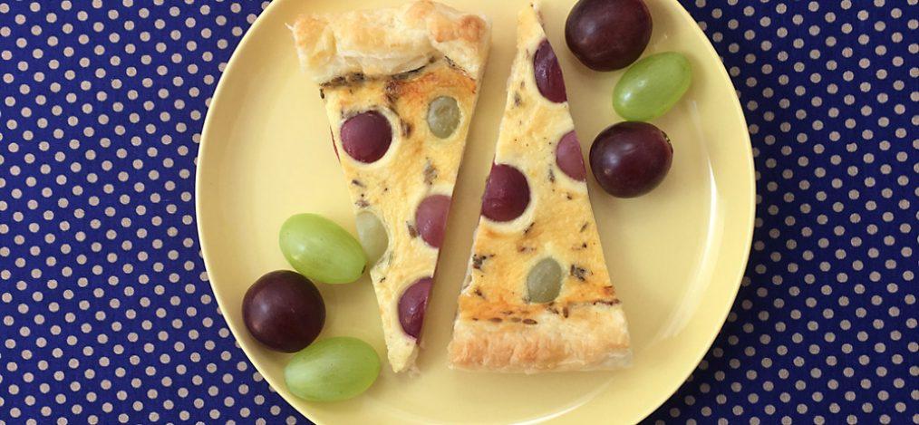 Teller mit leckerer Tarte