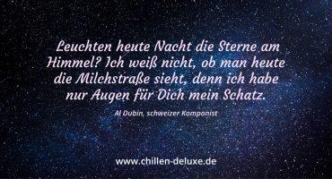 """Postkarte mit Motiv Sternenhimmel """"Leuchten heute Nacht die Sterne?"""""""