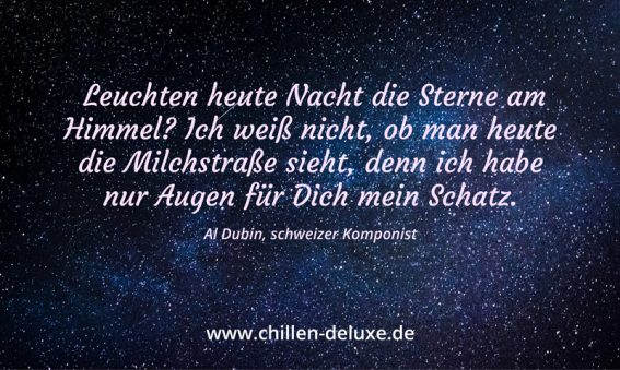 Postkarte: Sternenhimmel in der Nacht