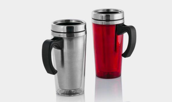 Thermo-Kaffeebecher mit Deckel