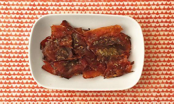 Serrano-Chips mit Honig