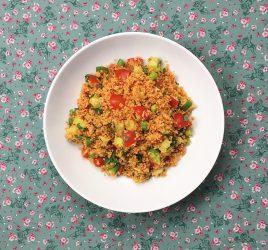 Couscous-Gemüse mit Minze